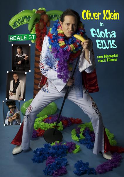 Programmplakat ´Aloha Elvis