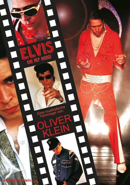 Programmplakat Elvis on my mind