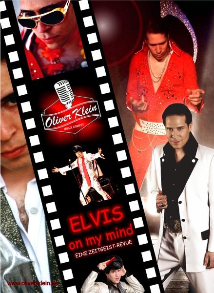 Programmplakat Elvis on my mind