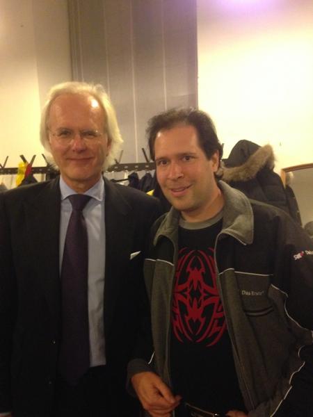 Oliver Klein mit dem großartigen Harald Schmidt