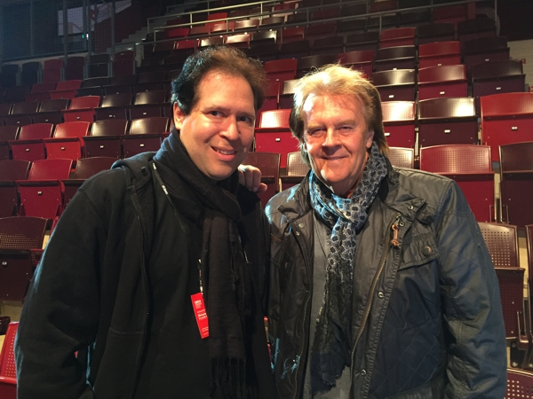Zwei Elvis Fans: Oliver Klein und Howard Carpendale