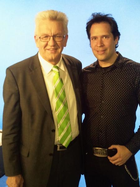 Oliver Klein und Winfried Kretschmann