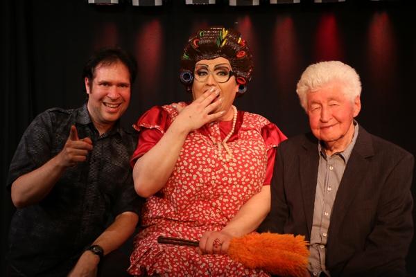 Oliver Klein mit Frl Wommy Wonder und Gotthilf Fischer