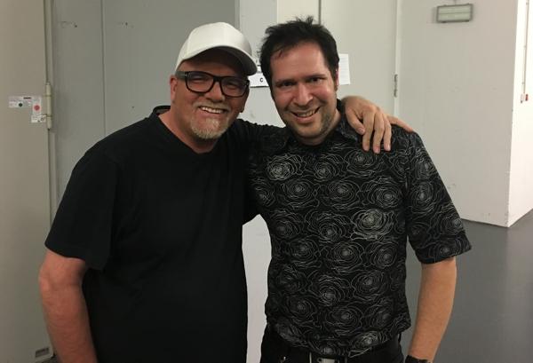 Oliver Klein mit DJ Ötzi