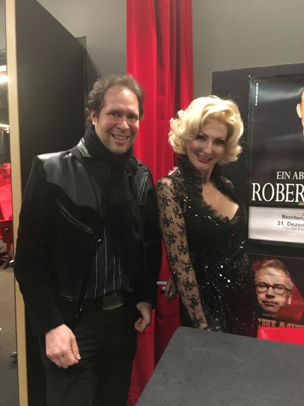 Oliver Klein mit der großartigen Desiree Nick